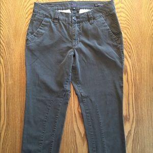 JAG Jeans Army Green Low Rise Slim Leg Pant Sz 12